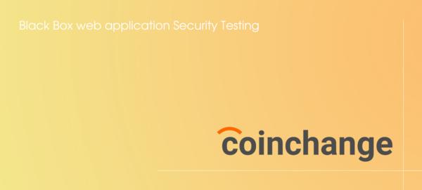 Black Box web application Security Testing
